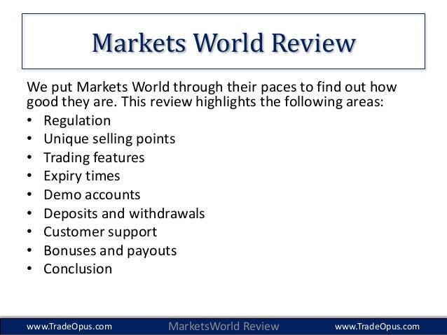 Binary trade world markets