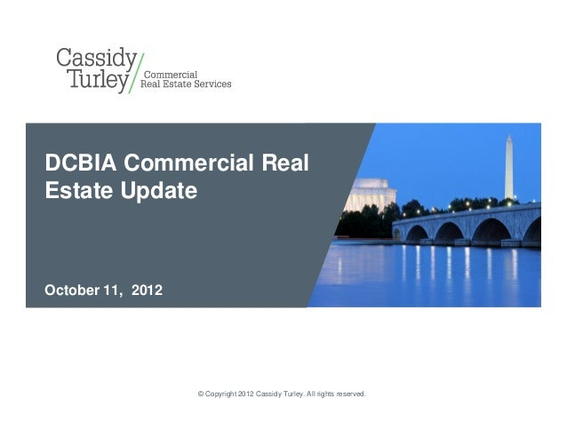 National Press Club: DCBIA DC Office Leasing Outlook