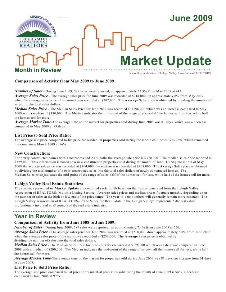 June 2009                                                                            Market Update Month in Review        ...