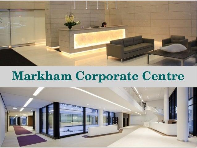 markham corporate centre address office centre