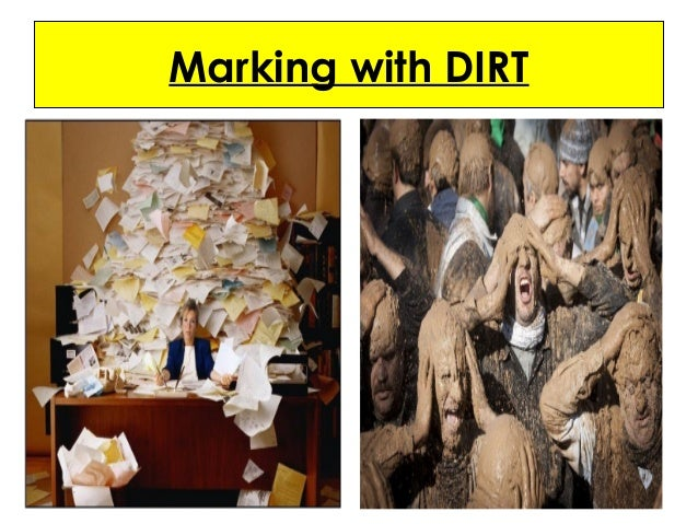 Marking with DIRT