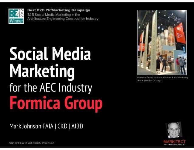 Social Media Marketing for the AEC Industry