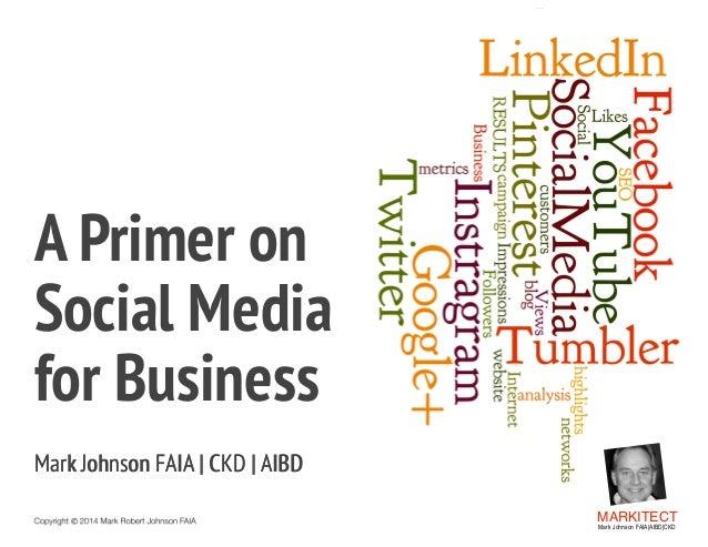 A Primer on Social Media for Business