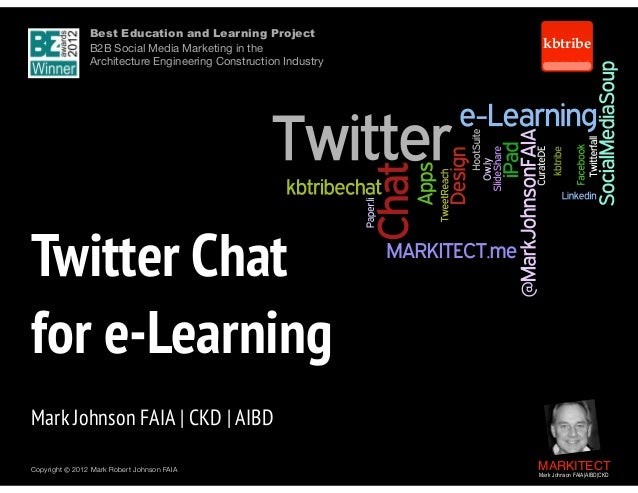 Twitter Chat for e-Learning