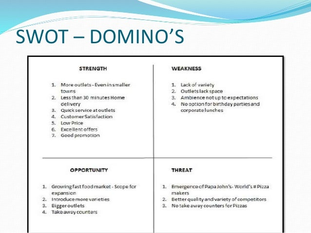 swot analysis for pizza hut Find the latest and most comprehensive swot and pestle analysis of yum brands, an american fast food company, operating brands like taco bell, kfc, pizza hut and.