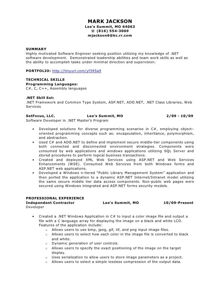 Were carried resume summary for experienced that there