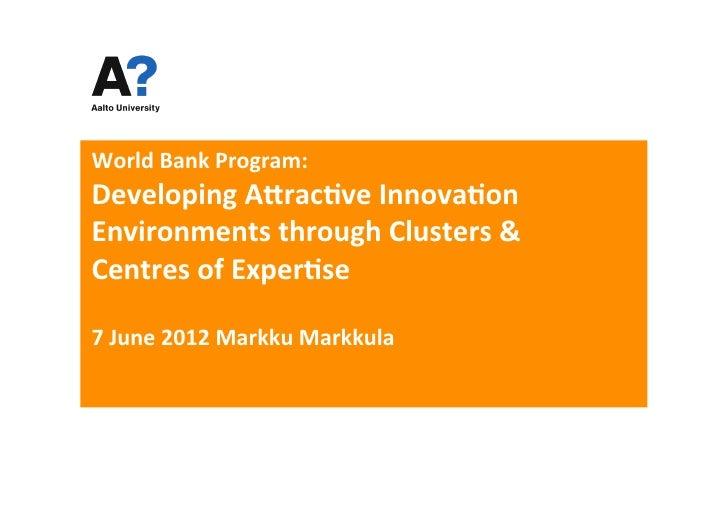 Markku markkula presentation