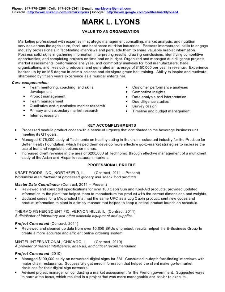 lyons resume