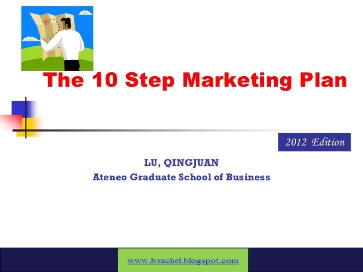 Markma10 step by step marketing plan