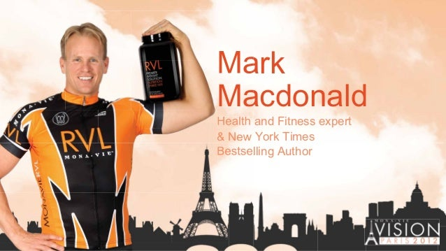 Mark Macdonald Health and Fitness expert & New York Times Bestselling Author