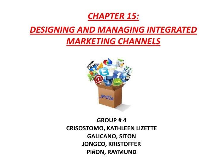 Markma Group 4  Chapter 15 Presentation