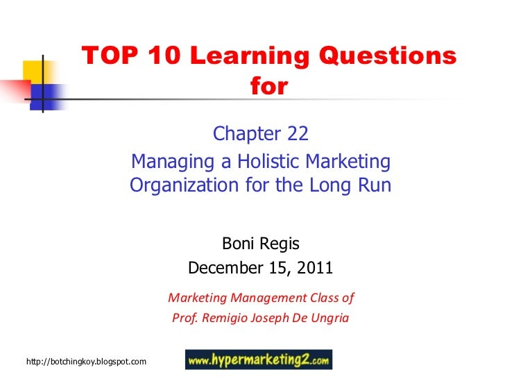 TOP 10 Learning Questions                         for                                   Chapter 22                        ...