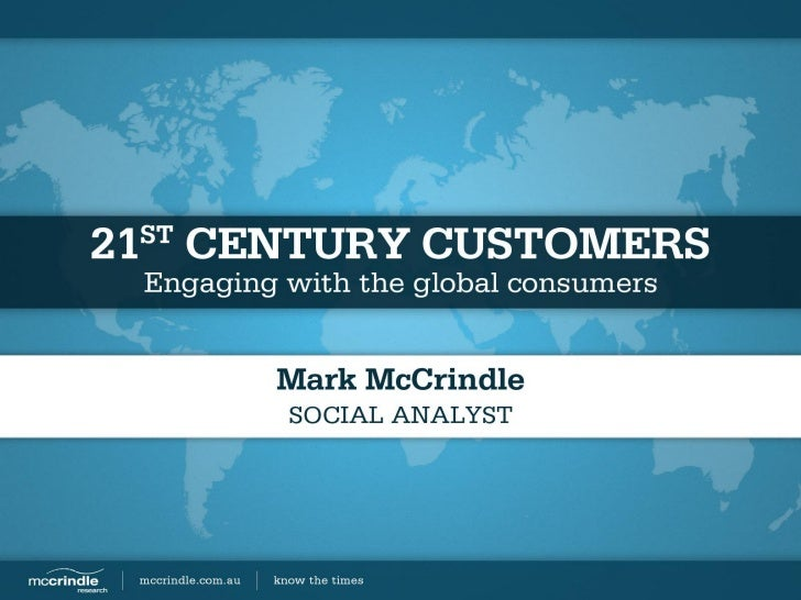 Engaging with the global consumers - Future Forum Breakfast #2 [Mark McCrindle - McCrindle Research]