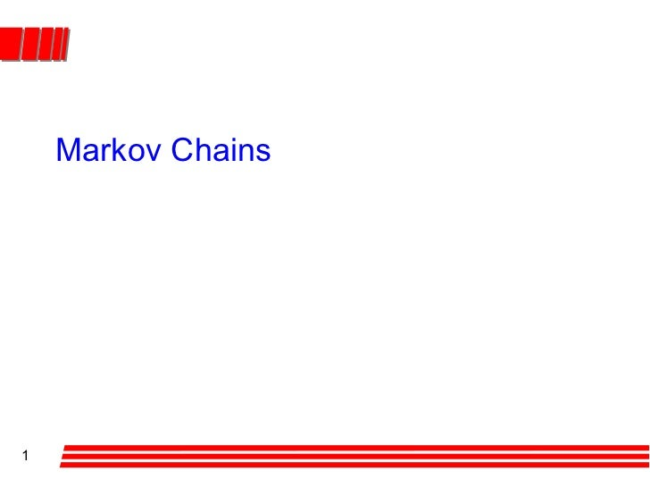 Markov chains1