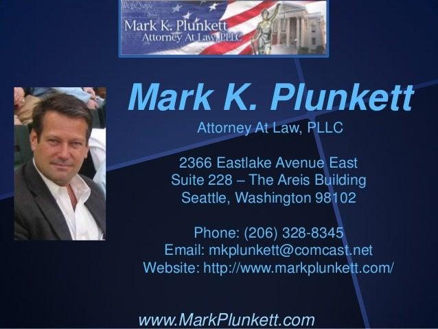 Mark Plunkett Attorney At Law