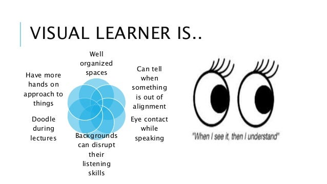visual learning style