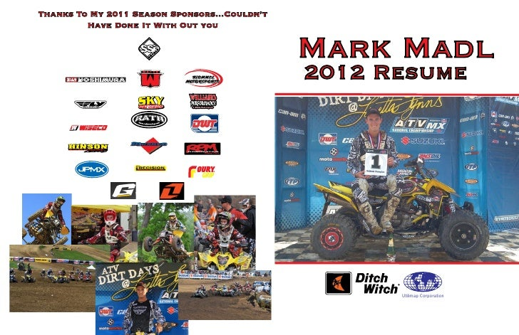 Thanks To My 2011 Season Sponsors...Couldn't         Have Done It With Out you                                            ...