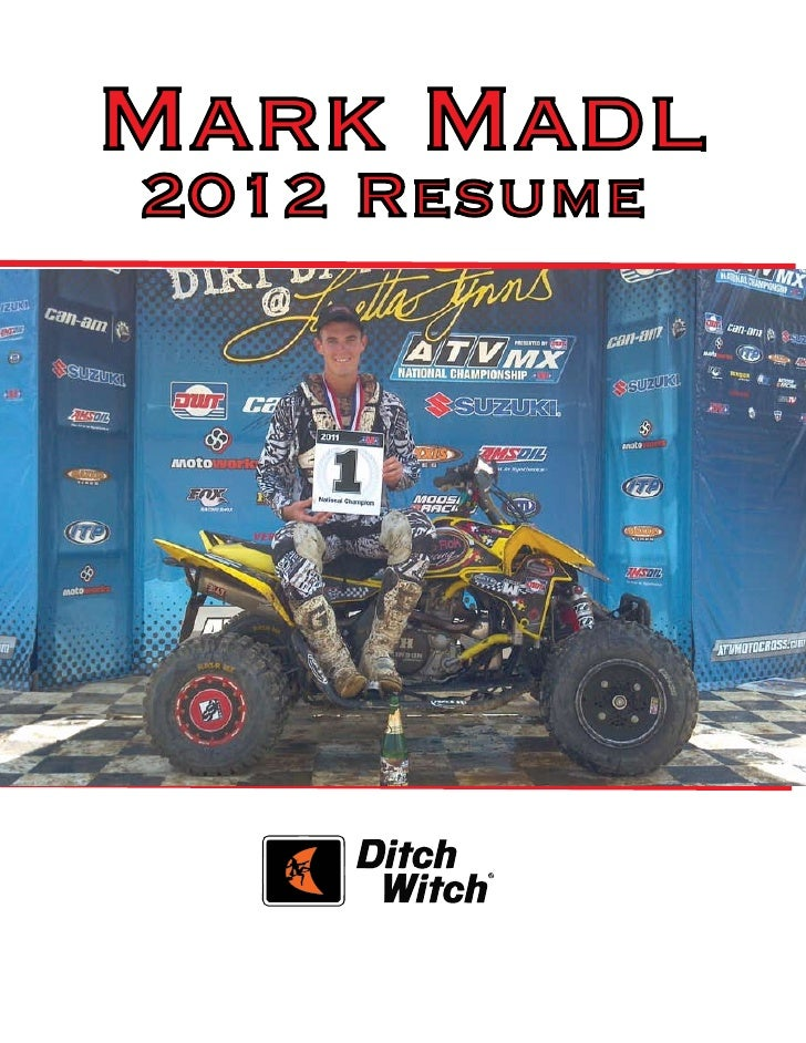 Mark Madl2012 Resume