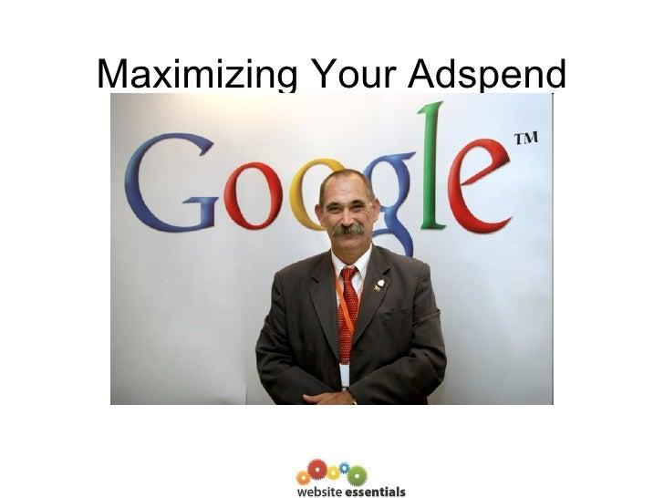 Maximizing Your Adspend Mark Tull Website Essentials