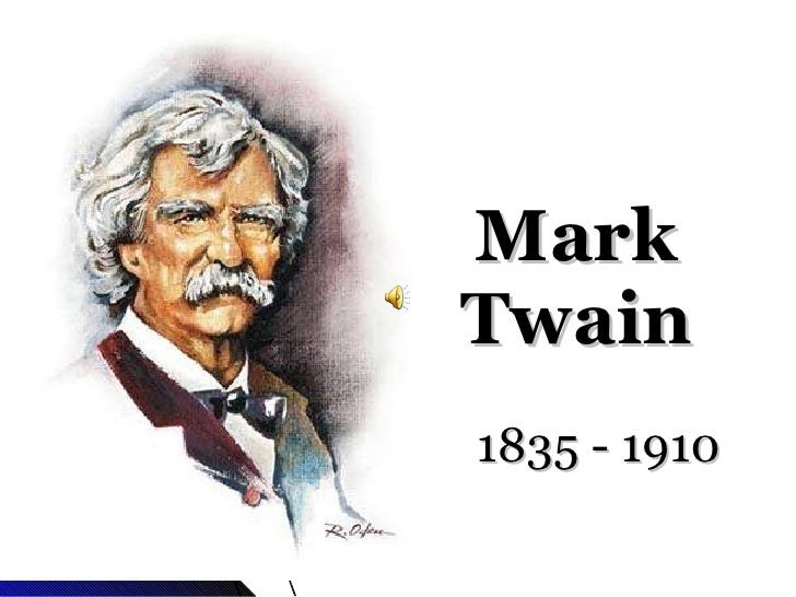 Mark twain thesis