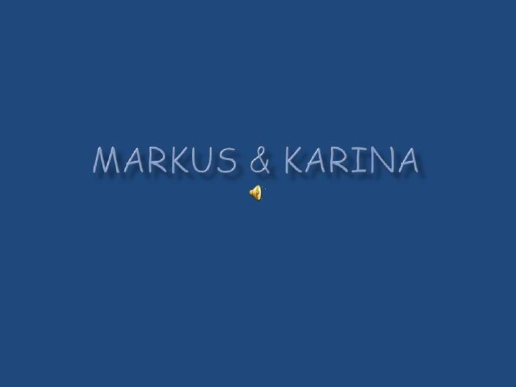 Markus & karina<br />
