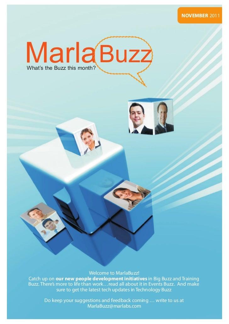 Marlabs - MarlaBuzz November