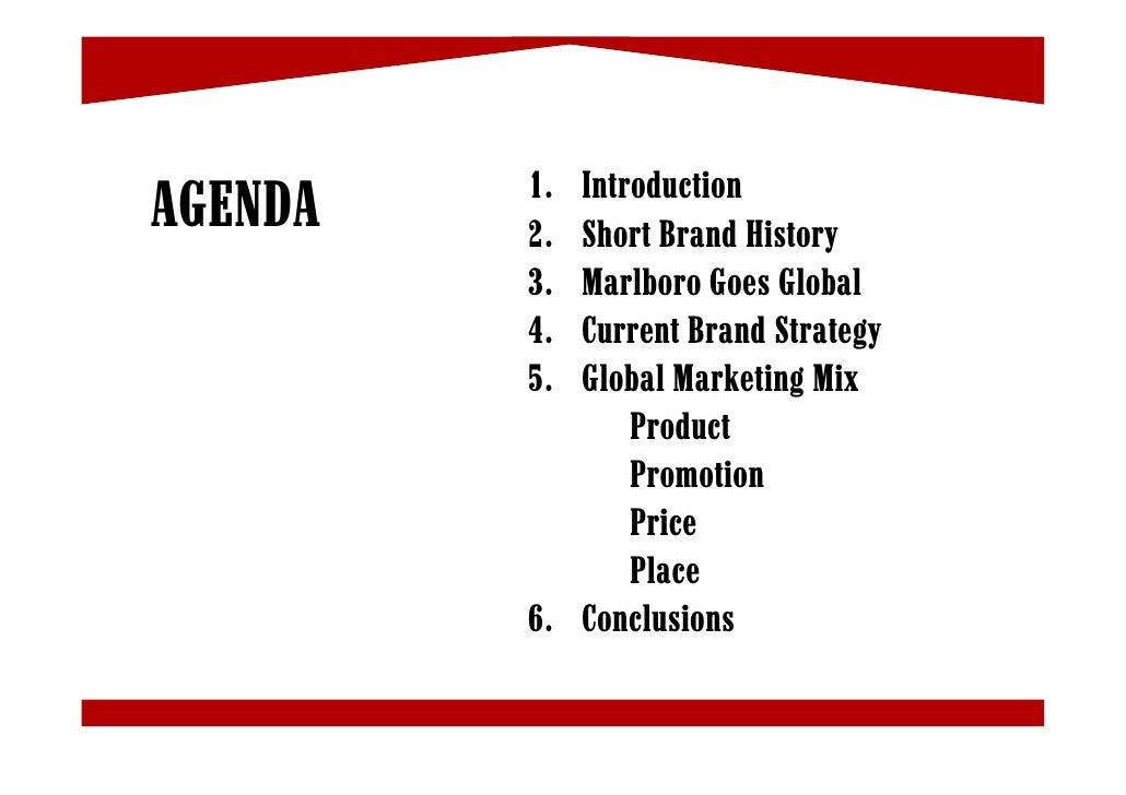 presentation on marlboro brand Edited transcript of mo earnings conference call or presentation 26-oct-17 1:00pm gmt incremental color just in terms of the composition of some of the share evolution either by price segment within the marlboro brand family or by geography.