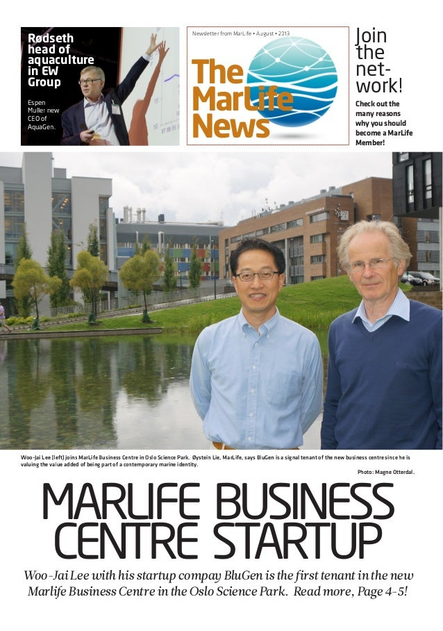 Marelife NEWS August 2013