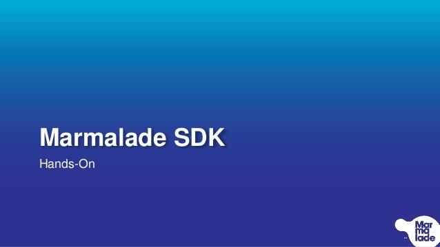 """Marmalade SDK. Технология на ладони"" - Иван Белый, Marmalade SDK"