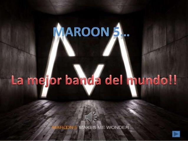 Maroon 5... fotos...