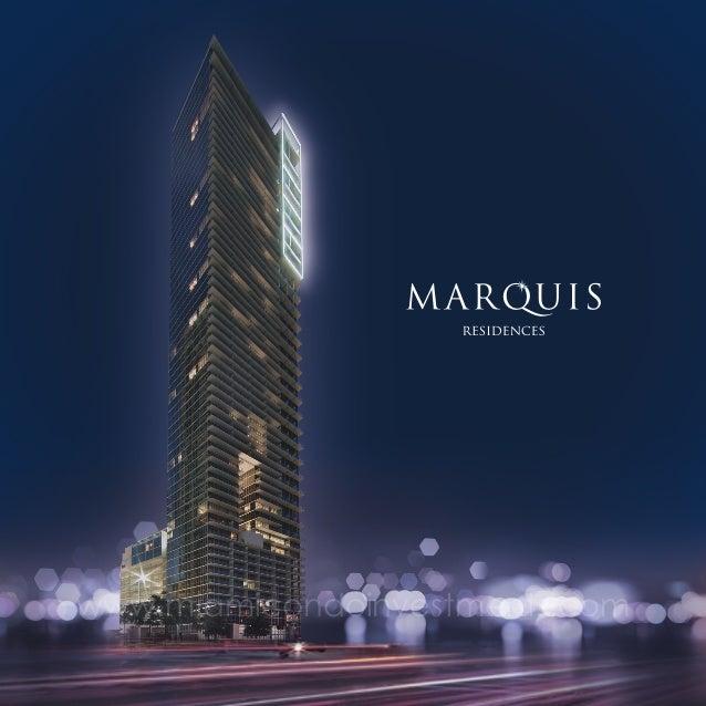 Marquis Miami brochure