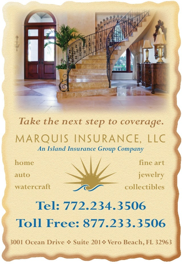 Marquis ins ad for vb mag jan 2009