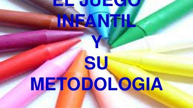 EL JUEGO  INFANTIL       Y      SUMETODOLOGIA
