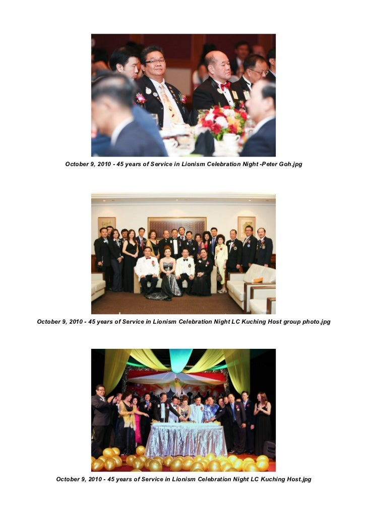 October 9, 2010 - 45 years of Service in Lionism Celebration Night -Peter Goh.jpgOctober 9, 2010 - 45 years of Service in ...