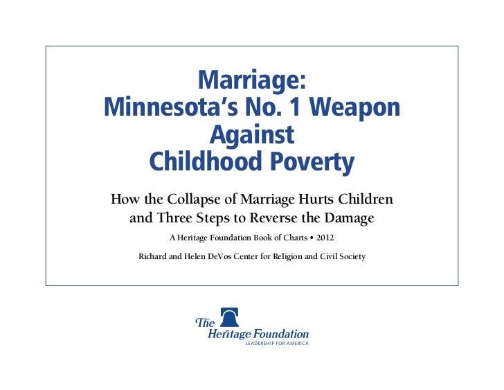 Marriage Poverty - Minnesota