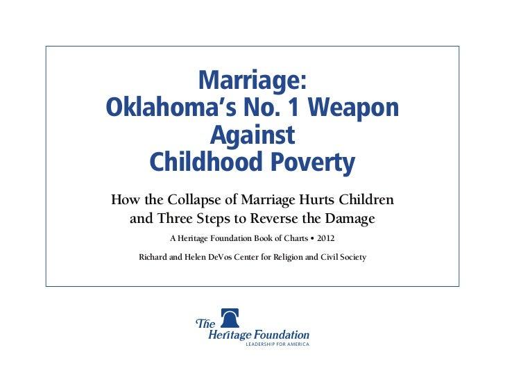 Marriage Poverty - Oklahoma