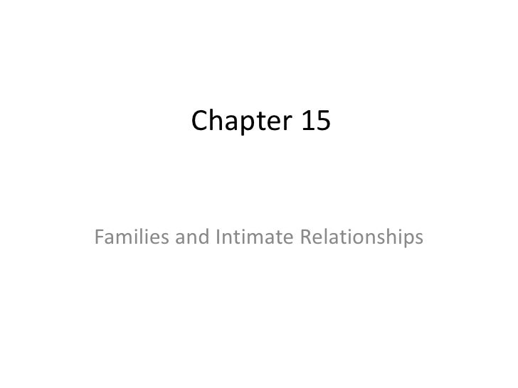 Marriage And Family, Very Final