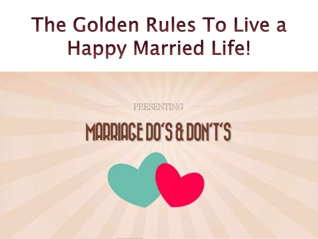 Marriage Do's & Don't's Office 409 Arcade Silver, 1 New Palasia, Indore 452018 Madhya Pradesh, India. Tel: +91-731-2540296...