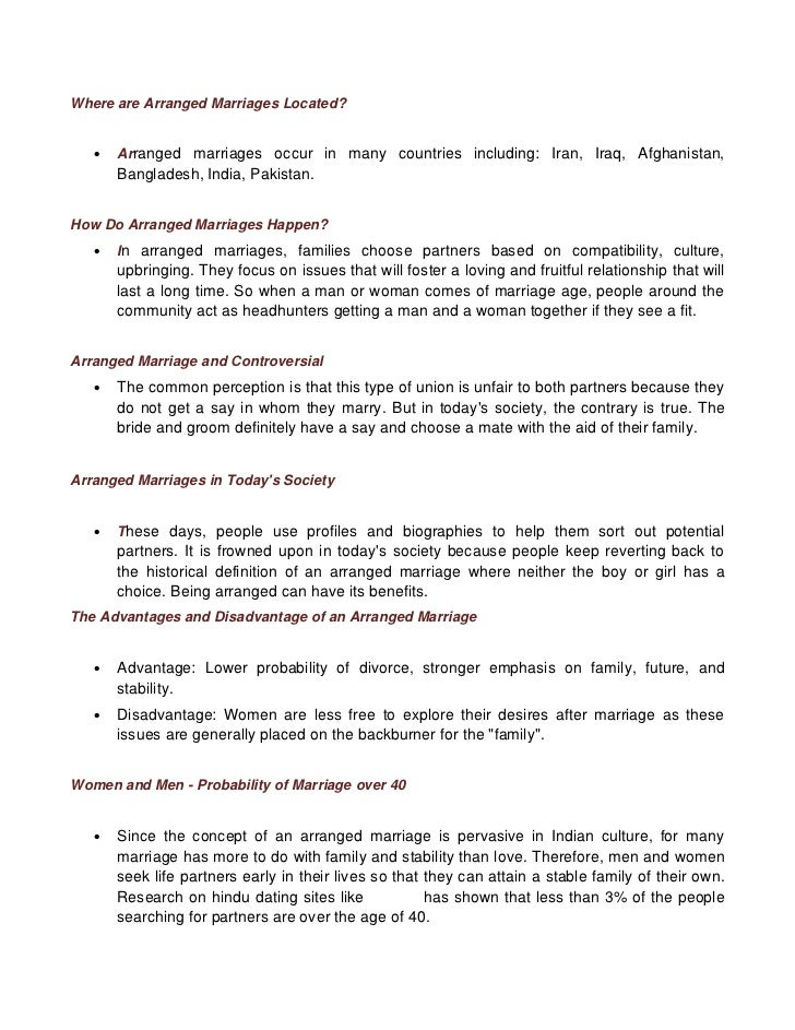 Love Marriage And Arranged Married Essay - image 8