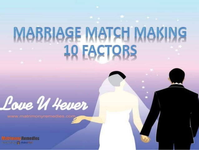 Marriage match making online