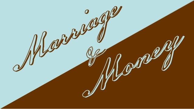 Marriage & Money Class Slideshow