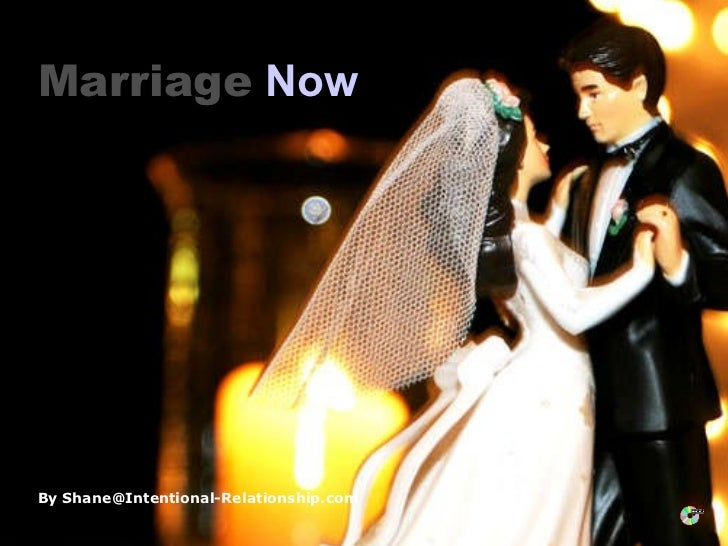 Marriage Now, Marriage Happens
