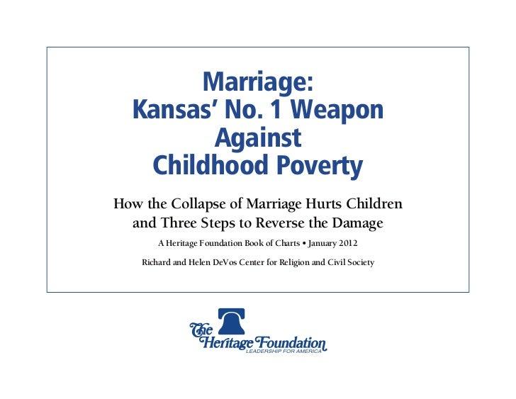 Marriage & Poverty: Kansas