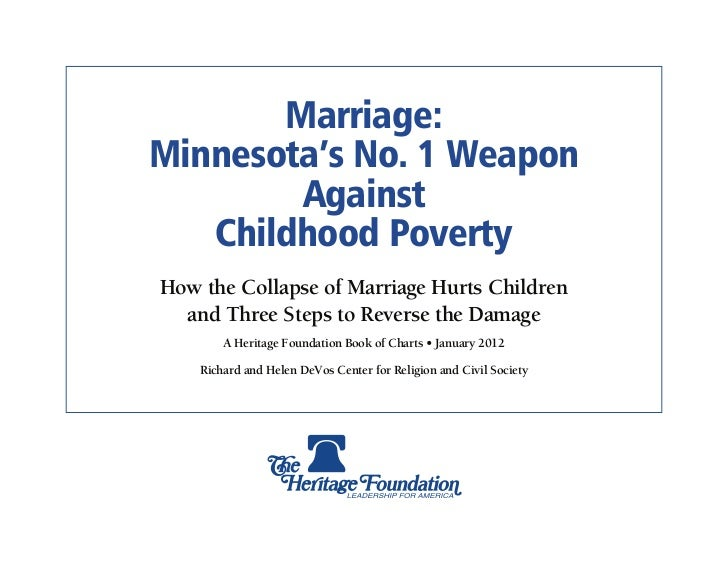 Marriage & Poverty: Minnesota