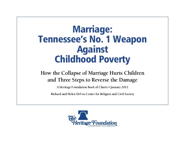 Marriage & Poverty: Tennessee