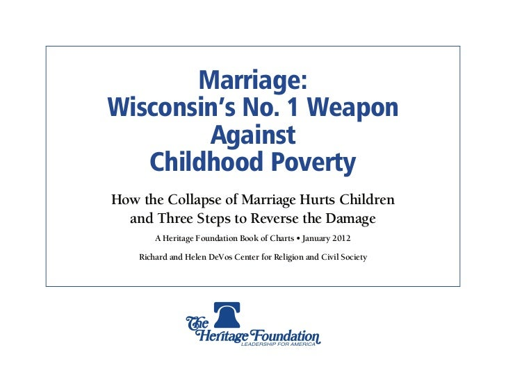 Marriage & Poverty: Wisconsin