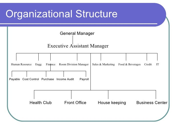 a front office organization chart tourism essay The front office managers might modify prices posted on a buyer's invoice  it is  expressed as the organizational structure, policies, procedures, processes and.