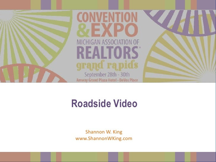 Roadside Video   Shannon W. Kingwww.ShannonWKing.com
