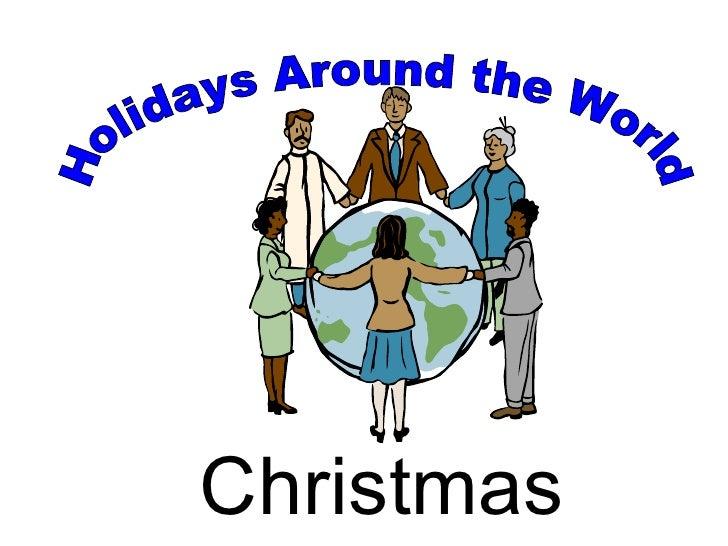 Holidays Around the World Christmas