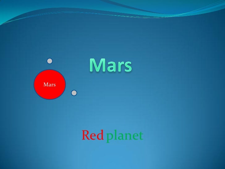 Info on planets
